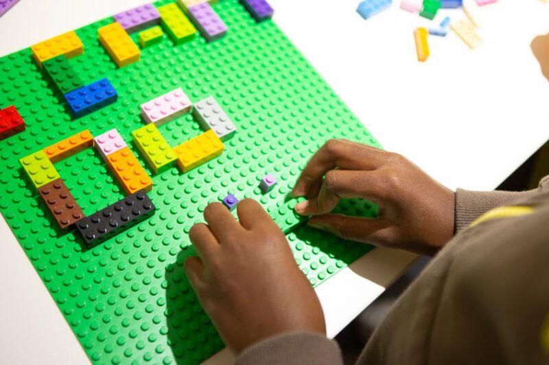 ICANDO Lego landscape